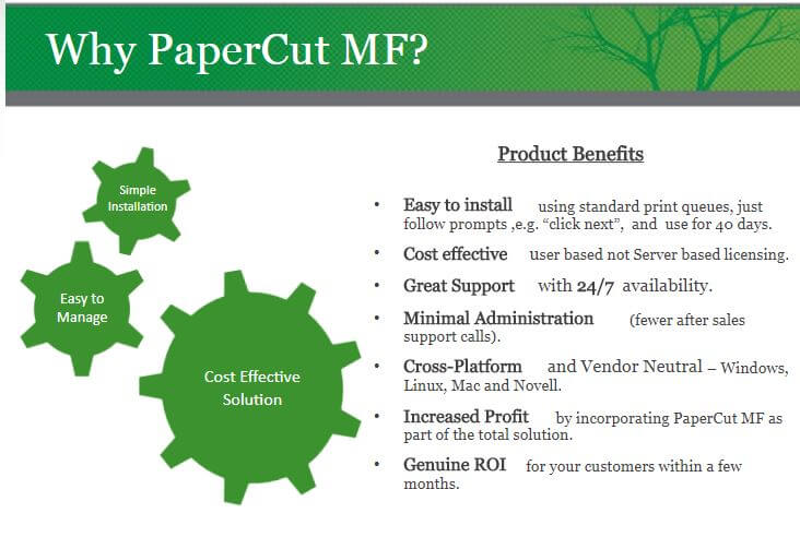 Why PaperCut - Print Management Solutions